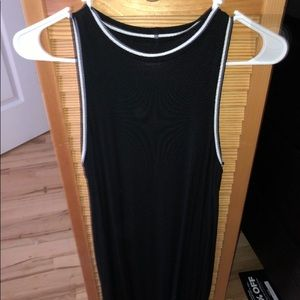 Black American Eagle cutout dress